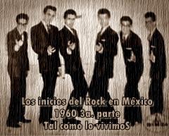 INICIOS DEL ROCK 'N' ROLL EN MÉXICO